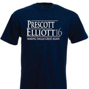 Prescott Elliott Dallas Cowboys ADULT XL SHIRT